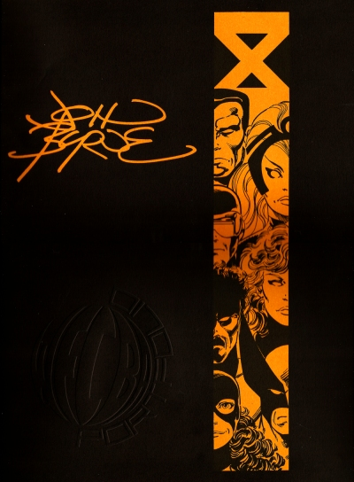 John Byrne portfolio cover