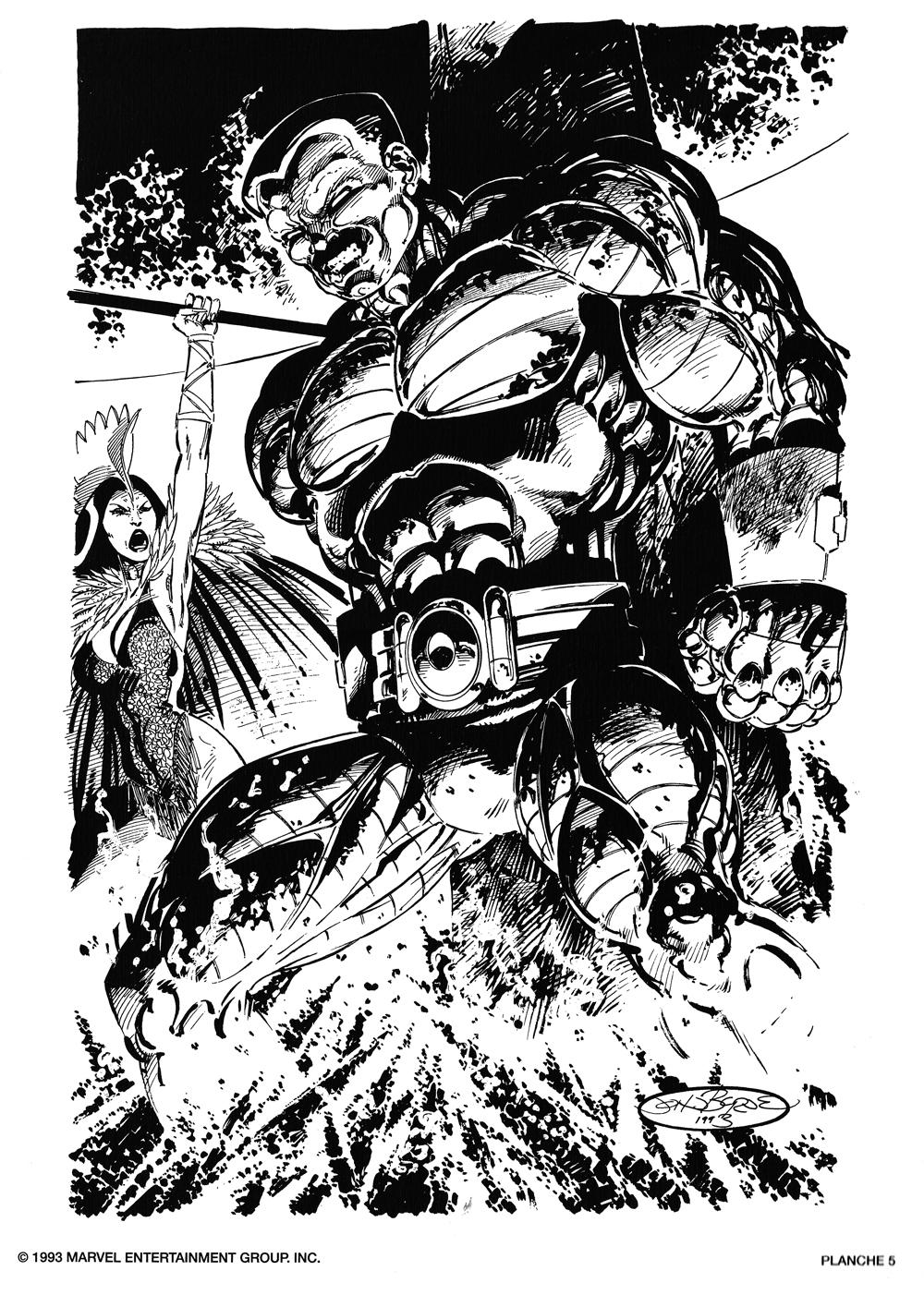 The Portfolio Of Eric Reber: John Byrne X-Men Portfolio (1993)