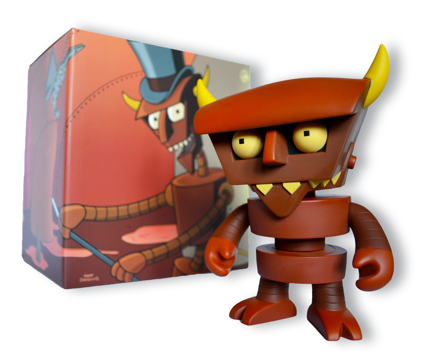 Robot Devil with box
