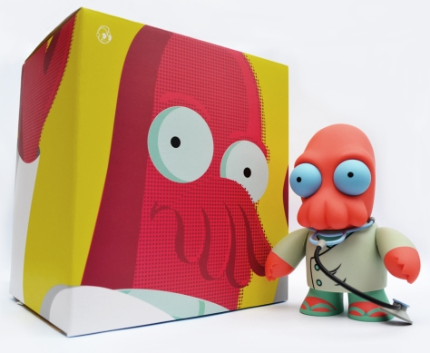 Dr Zoidberg with box