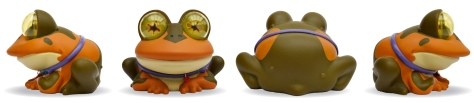 Hypnotoad, all sides