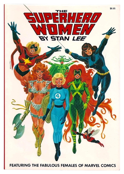 The Superhero Women, front cover