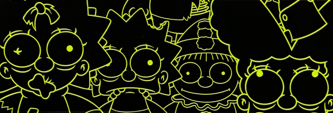 Kidrobot's The Simpsons Zombie Family
