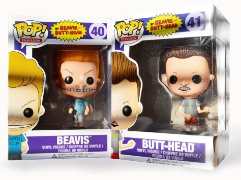 Beavis and Butt-head with boxes