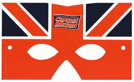 Captain Britain, free gift with issue 1