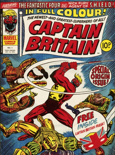 Captain Britain, issue 1