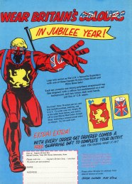 Captain Britain, issue 29 back cover
