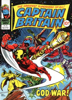 Captain Britain, issue 36
