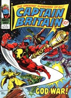 Captain Britain, issue 36