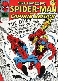 Super Spider-Man and Captain Britain, issue 231