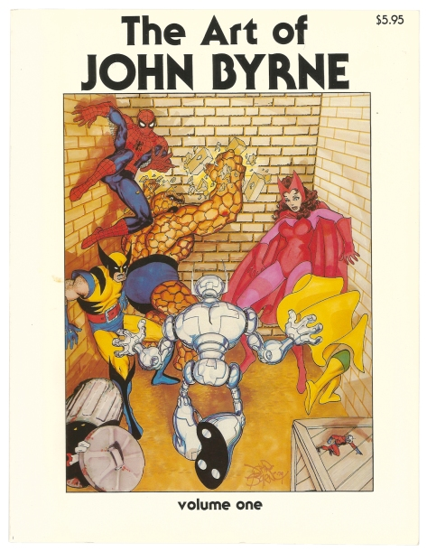 The Art of John Byrne cover