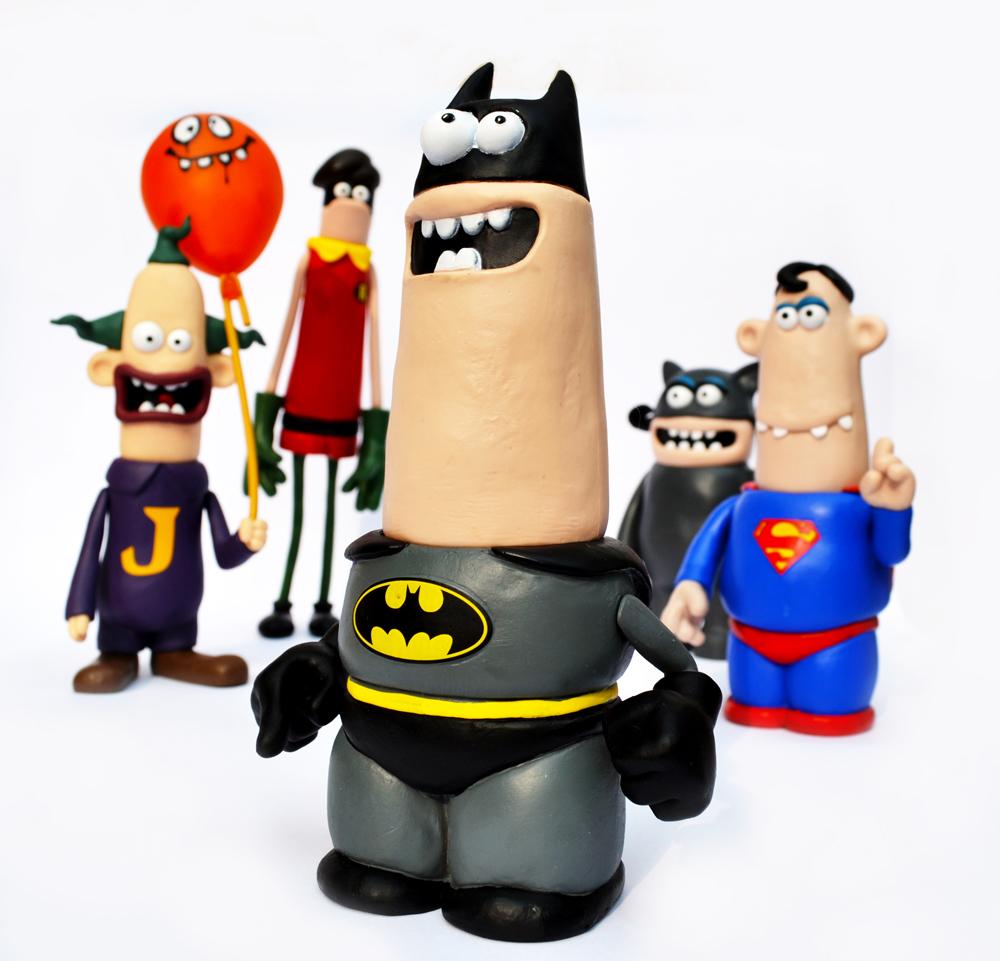 Aardman and DC's World's Funnest, Batman