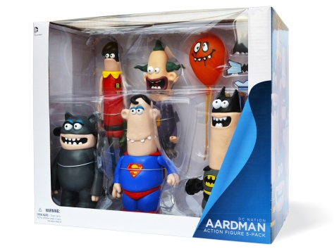 Aardman and DC World's Funniest box