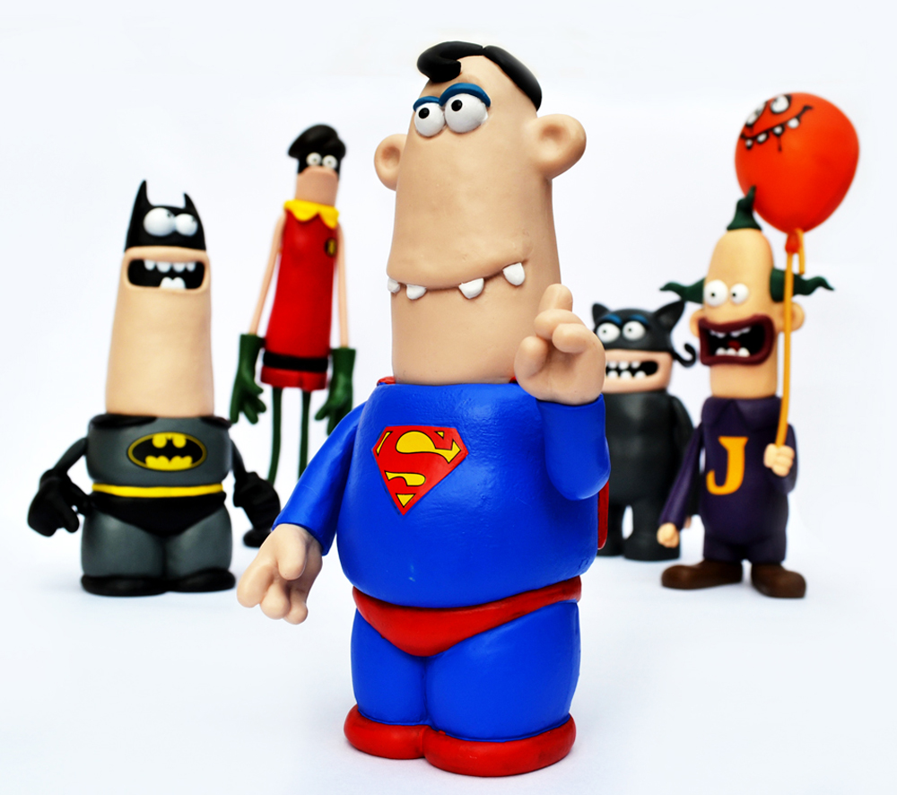 Aardman and DC's World's Funnest, Superman