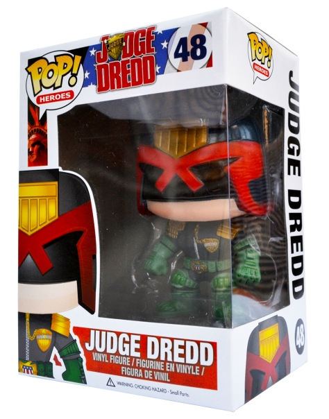 POP! Judge Dredd, with box
