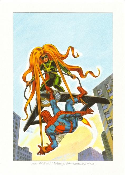 Spider-Man vs Medusa, 1974