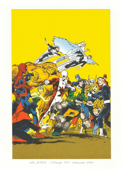 Strange 25th Anniversary portfolio: Alpha Flight, 1984