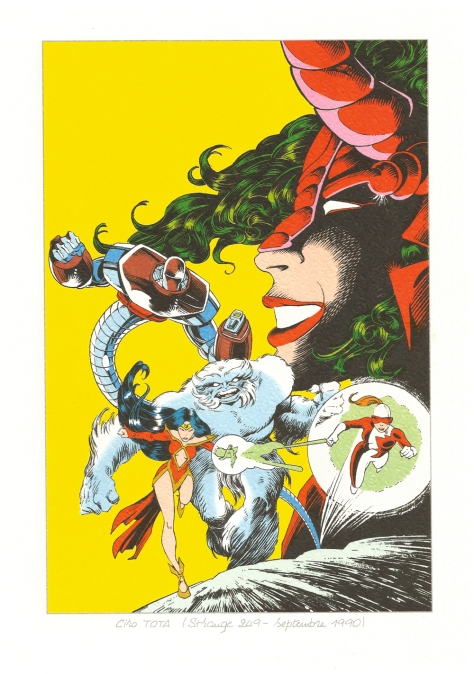 Strange 25th Anniversary portfolio: Alpha Flight