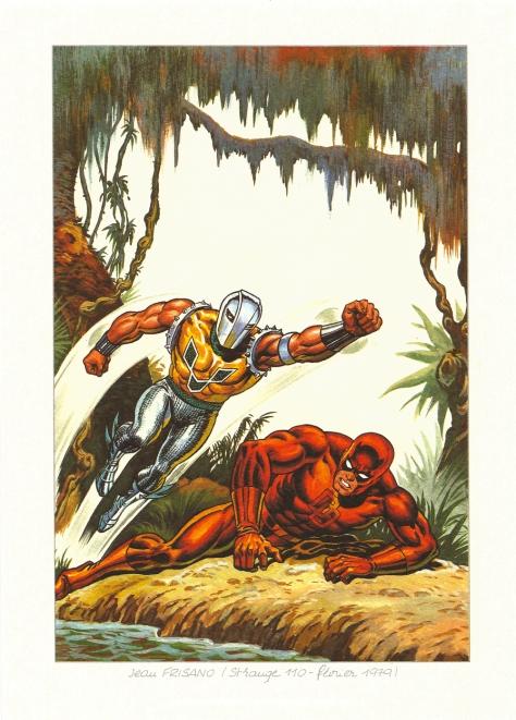 Strange 25th Anniversary portfolio: Daredevil, 1979