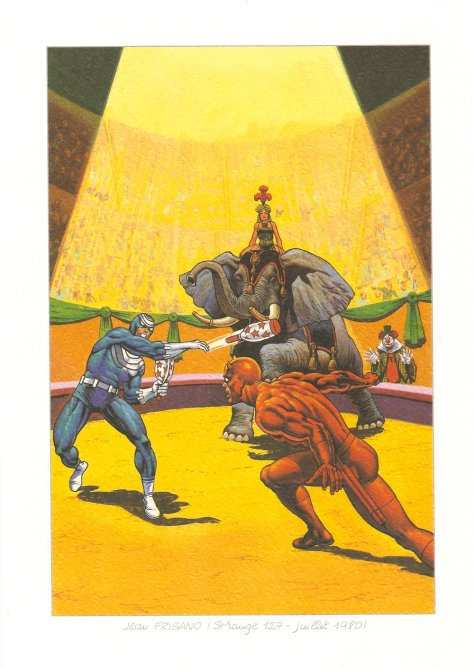 Strange 25th Anniversary portfolio: Daredevil, 1980