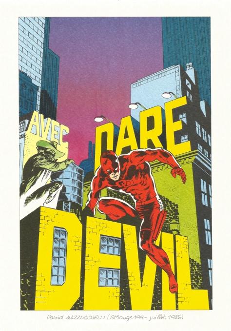 Strange 25th Anniversary portfolio: Daredevil