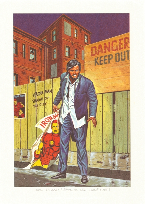 Strange 25th Anniversary portfolio: Iron Man, 1985