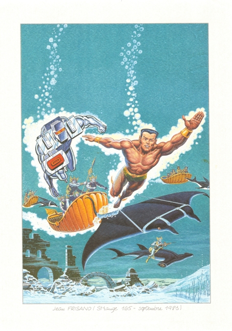 Strange 25th Anniversary portfolio: ROM and The Sub-Mariner, 1983