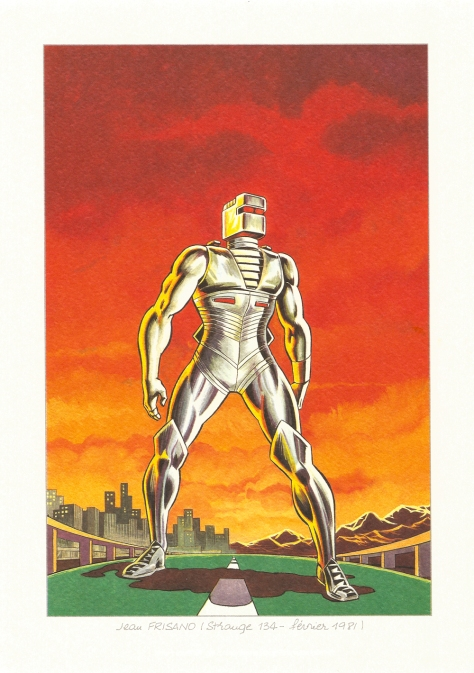 Strange 25th Anniversary portfolio: ROM – SpaceKnight, 1981