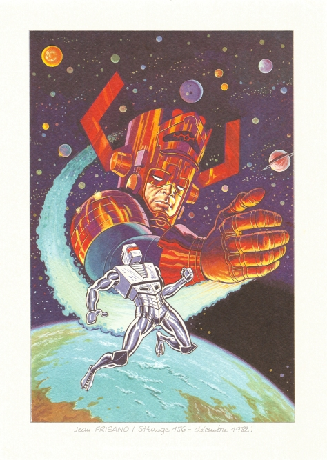 Strange 25th Anniversary portfolio: ROM – SpaceKnight, 1982