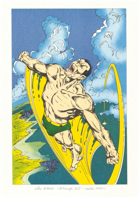 Strange 25th Anniversary portfolio: The Sub-Mariner