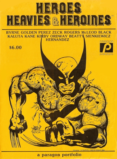 Heroes, Heavies & Heroines Portfolio, cover