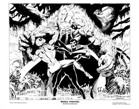Marvel Team-Up Portfolio Set One: Behold – D'Spayre!
