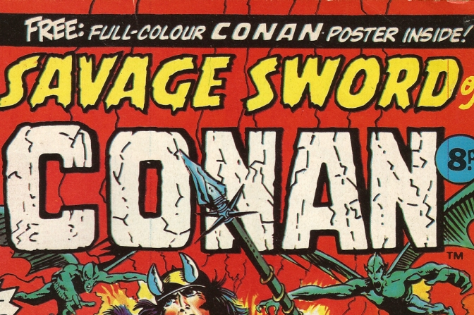 Savage Sword of Conan weekly