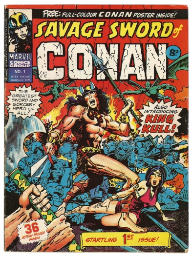 Savage Sword of Conan, issue 1