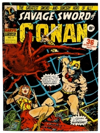 Savage Sword of Conan, issue 4