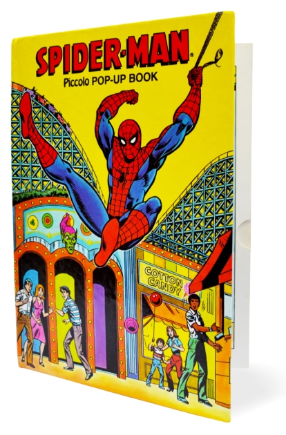 Spider-Man Piccolo pop-up book, front cover