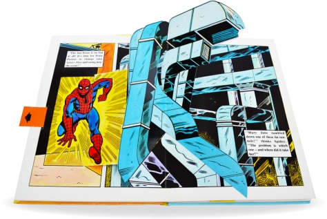 Spider-Man Piccolo pop-up book, pages 4-5