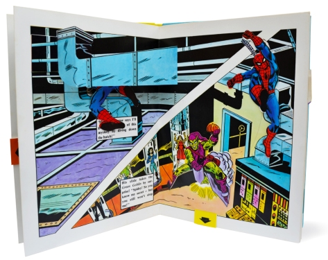 Spider-Man Piccolo pop-up book, pages 6-7