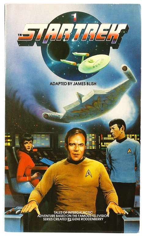 Star Trek volume 1, cover by Chris Achilleos