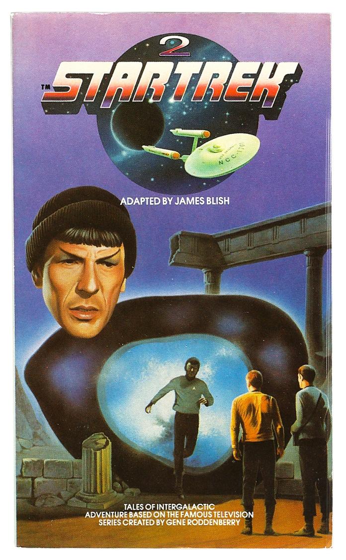 Star Trek volume 2, cover by Chris Achilleos