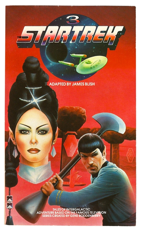 Star Trek volume 3, cover by Chris Achilleos