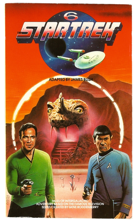 Star Trek volume 6, cover by Chris Achilleos