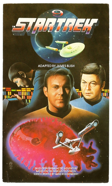 Star Trek volume 9, cover by Chris Achilleos