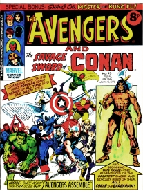 The Avengers and Savage Sword of Conan, issue 95