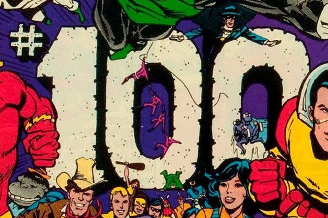 The best 100th issue comic book covers, part 1