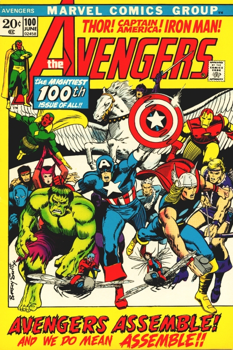 The Avengers, issue 100