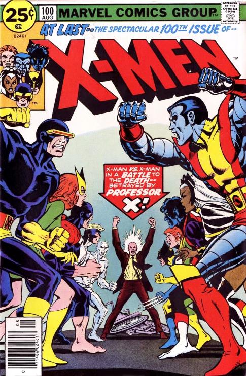 X-Men, issue 100
