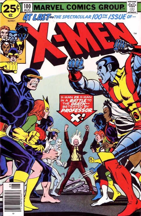 X-Men, issue 100