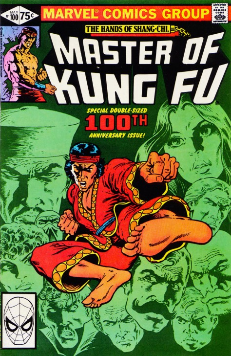 Master of Kung Fu, issue 100