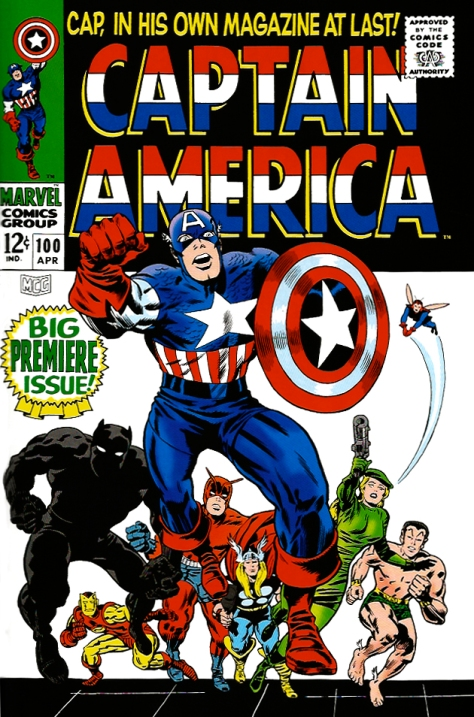 Captain America, issue 100